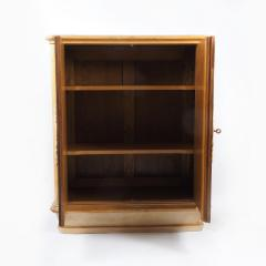 French 1940s Sycamore Cabinet - 1040590