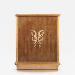 French 1940s Sycamore Cabinet - 1042183