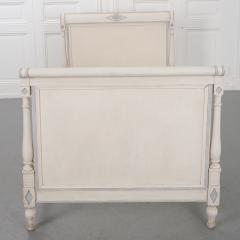 French 19th Century Directoire Painted Twin Bed - 2084669