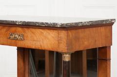 French 19th Century Empire Mahogany Console Table - 1216409