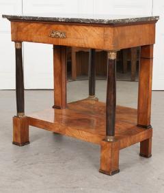French 19th Century Empire Mahogany Console Table - 1216410