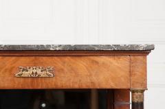 French 19th Century Empire Mahogany Console Table - 1216411