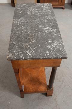 French 19th Century Empire Mahogany Console Table - 1216412