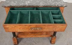 French 19th Century Empire Mahogany Console Table - 1216413