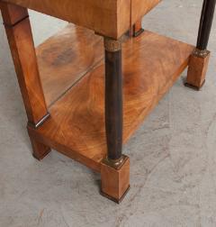 French 19th Century Empire Mahogany Console Table - 1216415