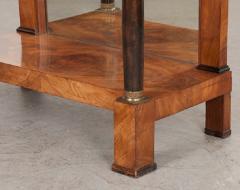 French 19th Century Empire Mahogany Console Table - 1216417