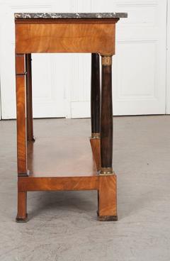 French 19th Century Empire Mahogany Console Table - 1216418