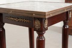 French 19th Century Empire Nightstand - 1225818