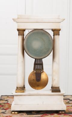 French 19th Century Empire Portico Clock - 1042968