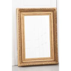 French 19th Century Gold Gilt Frame w Mirror - 1935910