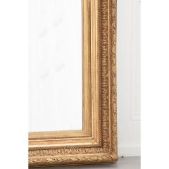 French 19th Century Gold Gilt Frame w Mirror - 1935911