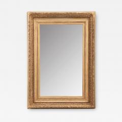 French 19th Century Gold Gilt Frame w Mirror - 2052128