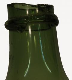 French 19th Century Green Blown Glass Wine Keg - 1291240