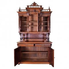 French 19th Century Henry II Renaissance Revival Walnut Buffet - 161407