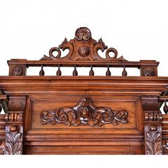 French 19th Century Henry II Renaissance Revival Walnut Buffet - 161408
