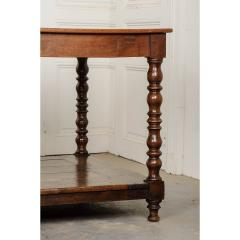 French 19th Century Large Oak Drapery Table - 1794752