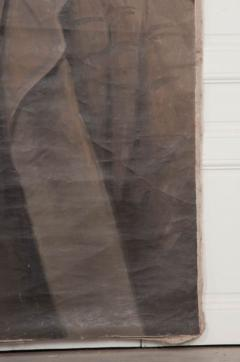 French 19th Century Large Portrait on Canvas - 1409756