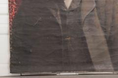 French 19th Century Large Portrait on Canvas - 1409762