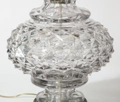 French 19th Century Lead Crystal Lamp - 1600852