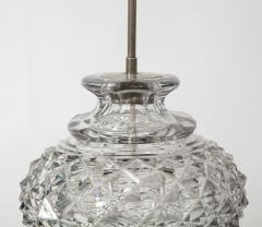 French 19th Century Lead Crystal Lamp - 1600853