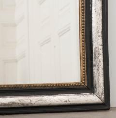 French 19th Century Louis Philippe Argent and Ebonized Mirror - 1114200