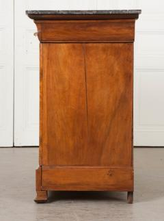 French 19th Century Louis Philippe Burled Elm Wood Commode - 1188461
