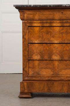 French 19th Century Louis Philippe Burled Elm Wood Commode - 1188465