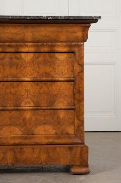 French 19th Century Louis Philippe Burled Elm Wood Commode - 1188467