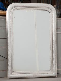 French 19th Century Louis Philippe Style Silver Gilt Mirror - 1936116