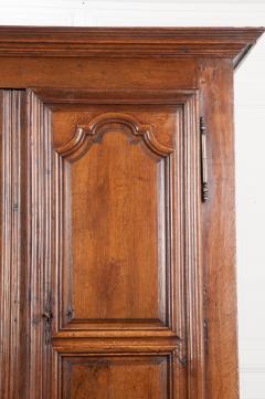 French 19th Century Louis XIII Style Oak Armoire - 1075265