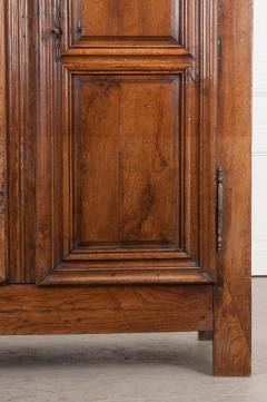 French 19th Century Louis XIII Style Oak Armoire - 1075266