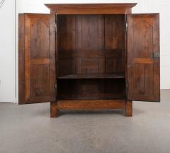 French 19th Century Louis XIII Style Oak Armoire - 1075267