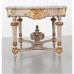 French 19th Century Louis XVI Center Table - 1916174