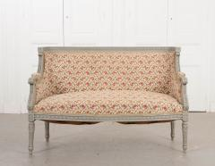 French 19th Century Louis XVI Style Painted Canap  - 1085168