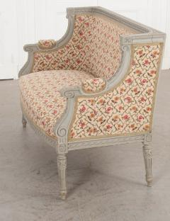 French 19th Century Louis XVI Style Painted Canap  - 1085171