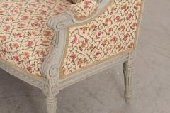 French 19th Century Louis XVI Style Painted Canap  - 1085172