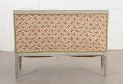 French 19th Century Louis XVI Style Painted Canap  - 1085173