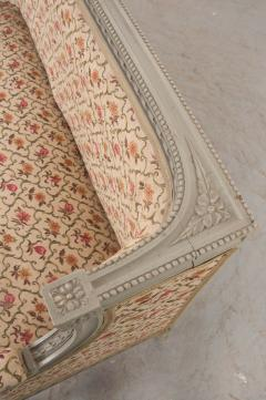French 19th Century Louis XVI Style Painted Canap  - 1085175