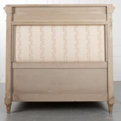 French 19th Century Louis XVI Style Queen Painted Bed - 2076267