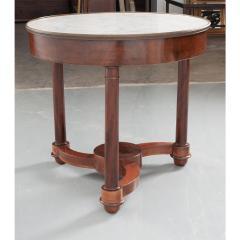 French 19th Century Mahogany Empire Center Table - 1917151