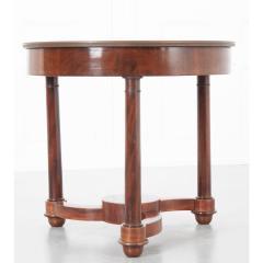 French 19th Century Mahogany Empire Center Table - 1917152