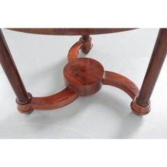 French 19th Century Mahogany Empire Center Table - 1917170