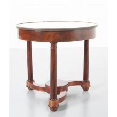 French 19th Century Mahogany Empire Center Table - 1917176