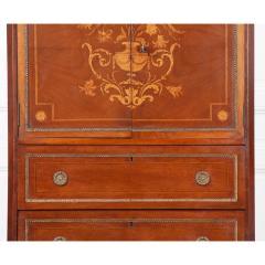 French 19th Century Mahogany Inlaid Cabinet - 1917336