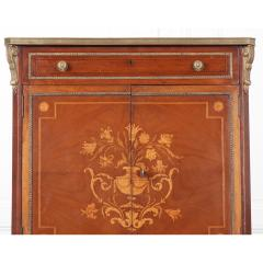 French 19th Century Mahogany Inlaid Cabinet - 1917337