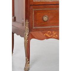 French 19th Century Mahogany Inlaid Cabinet - 1917340