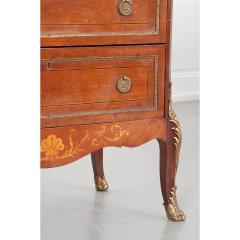 French 19th Century Mahogany Inlaid Cabinet - 1917341
