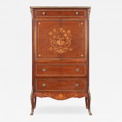 French 19th Century Mahogany Inlaid Cabinet - 1921096