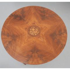 French 19th Century Mahogany Inlay Tea Table - 1917266