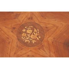 French 19th Century Mahogany Inlay Tea Table - 1917267